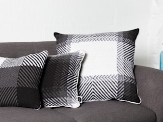 Cushion set on the sofa detail:   by WLE London