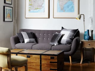 Cushion set on the sofa:   by WLE London