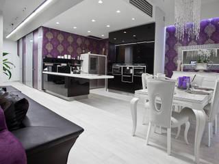 Glamour: styl , w kategorii Jadalnia zaprojektowany przez KLIFF DESIGN