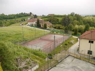 Roatto - Spogliatoi per il campo da tennis di RED+