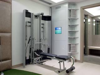 Тренажерные комнаты в . Автор – RBD Architecture & Interiors
