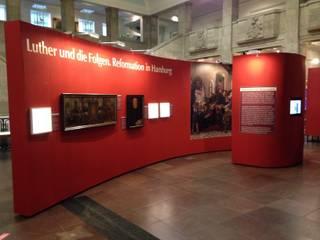 Ausstellung: Reformation in Hamburg:  Museen von IIID brand communication