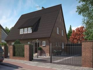 Frontfassade Perspektive 1:  Häuser von formforhome Architecture & Design