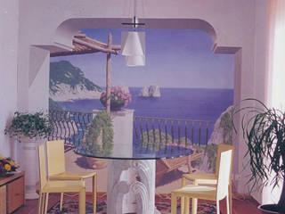 Trompe L'Oeil:  in stile  di Alex Lorenzi