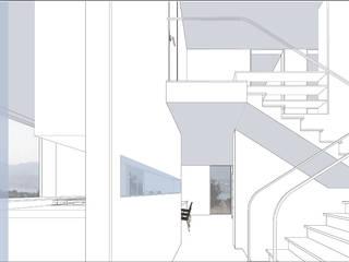 Modern Corridor, Hallway and Staircase by OAP Architektur und Projekte Modern