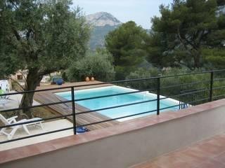 Creation d´une piscine par agence d'architecture nadia poss
