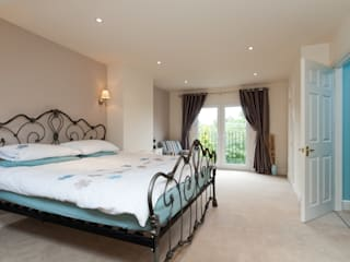 Master Room with French Doors A1 Lofts and Extensions Balconies, verandas & terraces Lighting