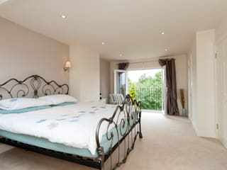 Master Room with French Doors A1 Lofts and Extensions Mediterranean style bedroom