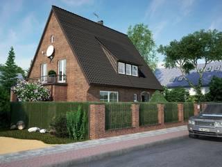 Frontfassade Perspektive 2:  Häuser von formforhome Architecture & Design