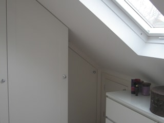 Dressed Hip to Gable Loft Conversion A1 Lofts and Extensions Dressing roomStorage