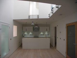 The Secret Cottage, Anstruther, Fife, Scotland Air Architecture Minimalist kitchen