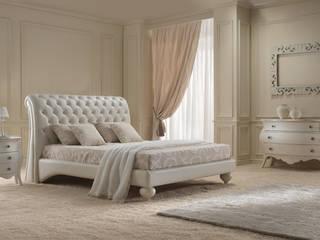 VIS arredamenti 臥室床與床頭櫃