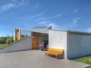 Carport und Zugang: landhausstil Häuser von kleboth lindinger dollnig