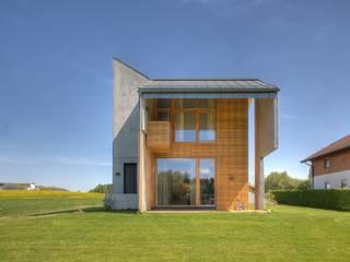 現代房屋設計點子、靈感 & 圖片 根據 kleboth lindinger dollnig 現代風
