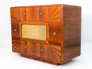 "Chest of Drawers ""Retro"" Art Deco Meble Autorskie Jurkowski Sala multimediaMuebles"
