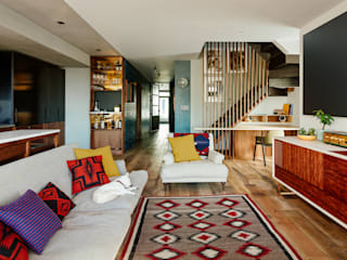 Vinegar Hill Apartment Salas modernas de General Assembly Moderno