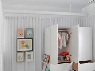 Ático Nube Dormitorios infantiles de estilo minimalista de 2G.arquitectos Minimalista