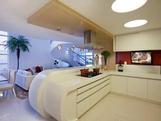 Cocinas de estilo moderno de Designer de Interiores e Paisagista Iara Kílaris Moderno