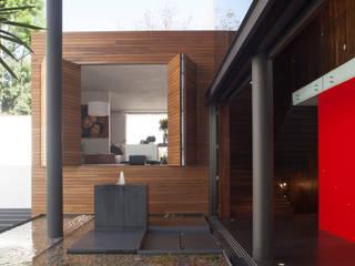 Terrazas de estilo  de Echauri Morales Arquitectos, Minimalista