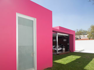 Casas de estilo  por Echauri Morales Arquitectos, Minimalista