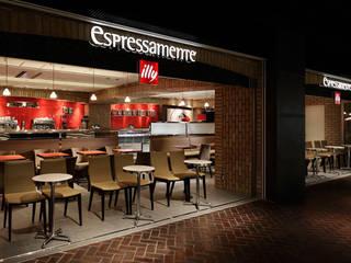 ESPRESSAMENTE ILLY: BaNANA OFFICE INC.が手掛けたオフィススペース&店です。