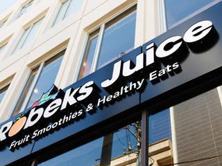 ROBECKS JUICE: BaNANA OFFICE INC.が手掛けたオフィススペース&店です。
