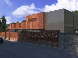 Azienda biofarmaceutica Kedrion – Barga: Complessi per uffici in stile  di arch. silviabertoncini