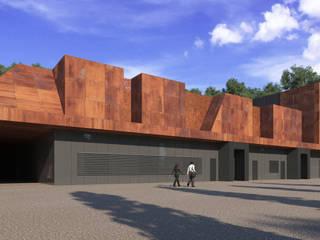 Azienda biofarmaceutica Kedrion – Barga Complesso d'uffici moderni di arch. silviabertoncini Moderno