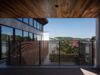 ベランダ2:  井上久実設計室が手掛けたテラス・ベランダです。