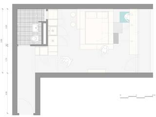 غرفة نوم تنفيذ paola bagna,
