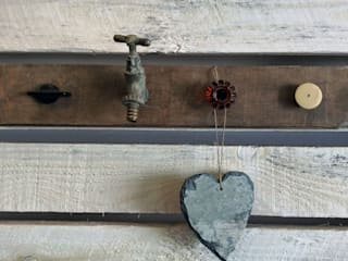 Up-cycled Hook Rack Rural Retro HouseholdAccessories & decoration