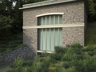 Centrale idroelettrica – Camporgiano:  in stile  di arch. silviabertoncini