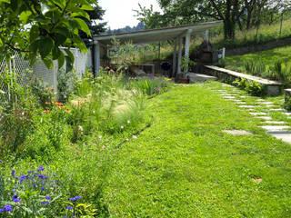 Jardin de style  par suingiardino, Rural