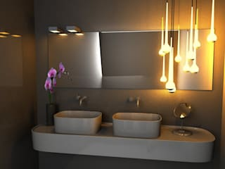 Elena Valenti Studio Design Modern bathroom