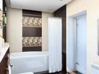 Дизайн студия Александра Скирды ВЕРСАЛЬПРОЕКТ Salle de bain originale