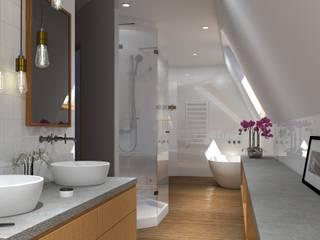 Baños de estilo moderno de Yannick Corfmat Moderno