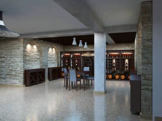 Дизайн студия Александра Скирды ВЕРСАЛЬПРОЕКТ Wine cellar