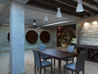 Дизайн студия Александра Скирды ВЕРСАЛЬПРОЕКТ Cave à vin classique