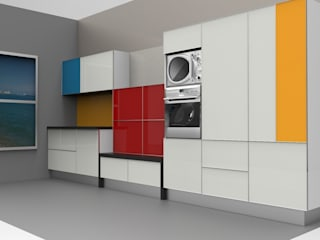 HAUTE COUTURE IN KITCHEN ARCHITECTURE | SERIES 1 Modern style kitchen by ANJALI SHAH Modern