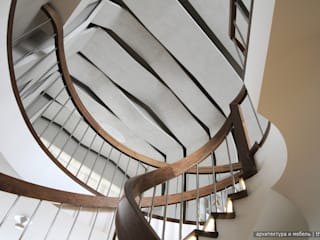 Pasillos, vestíbulos y escaleras de estilo minimalista de Ply Minimalista