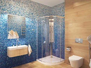 Minimalist style bathrooms by ECOForma Minimalist