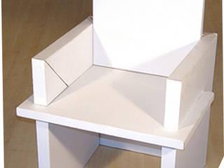 Chaise en carton:  de style  par MY NATURE BOX