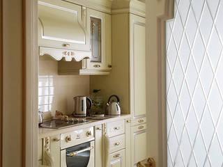 кухня:  в . Автор – Okeydesign студия интерьера Елены Кабиной