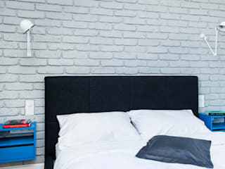 Scandinavian style bedroom by EG Projekt Scandinavian