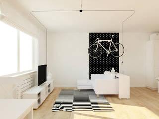 Quartos escandinavos por Ale design Grzegorz Grzywacz