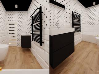 Ale design Grzegorz Grzywacz의  욕실