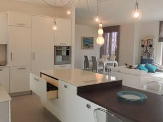 Nadia Moretti ห้องครัวเคาน์เตอร์ครัว
