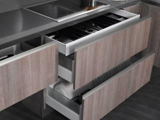 Cocina Tundra Cocinas de estilo moderno de Lebana Moderno