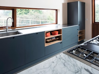 Clean Lines:  Kitchen by Terry Design