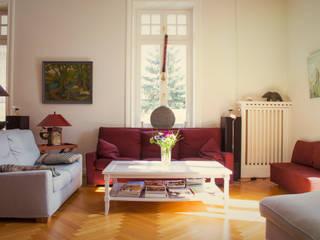 Villa Elbvororte Hamburg Klassische Wohnzimmer von Feng Shui Energie im Fluss Klassisch